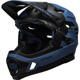 Bell Super DH MIPS Casque fasthouse, matte blue/black